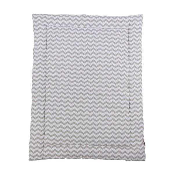 Play mat Svea, white, 140x100 cm