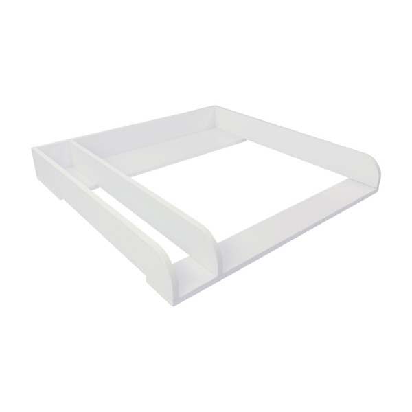 Peer changing top with divider, white, IKEA Malm