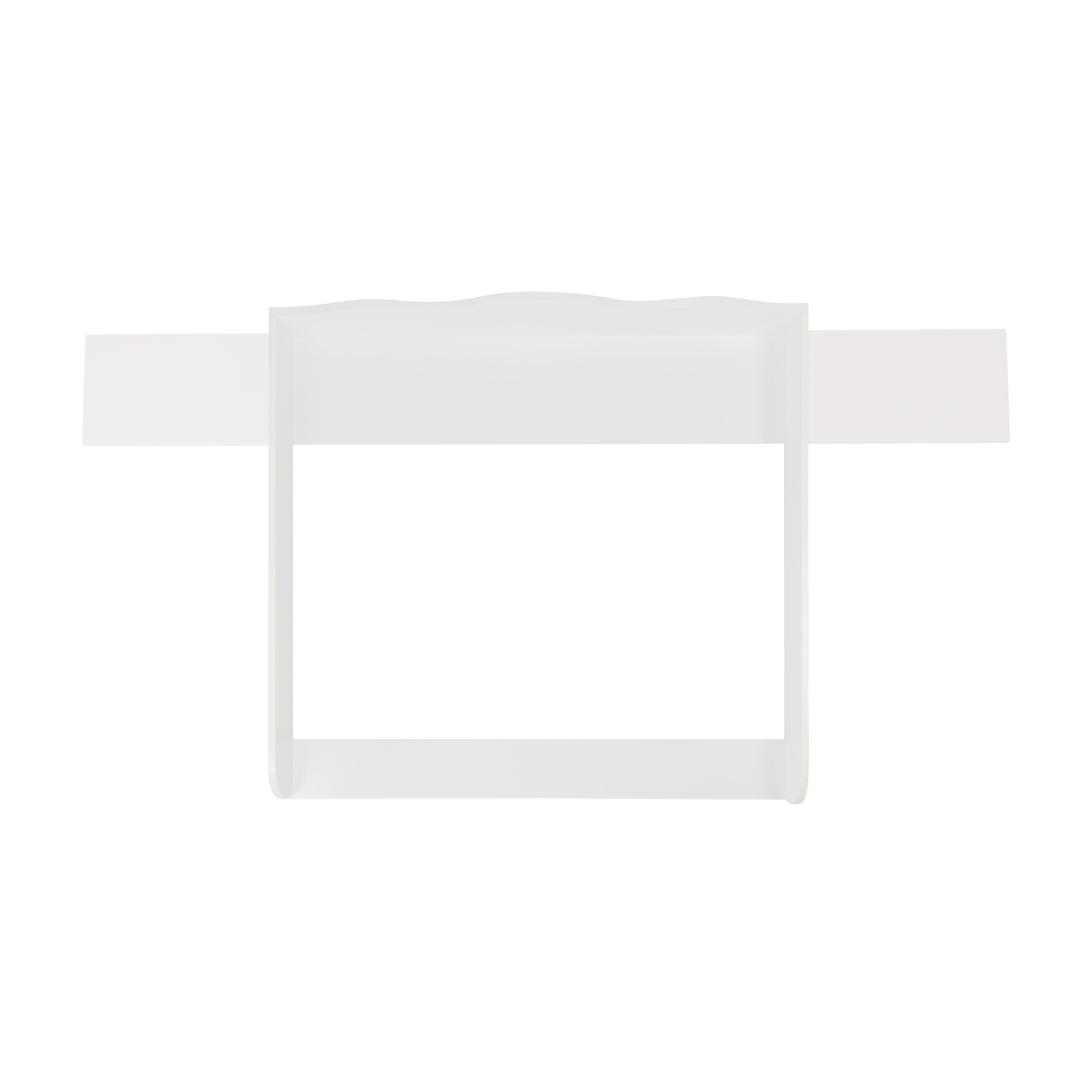 Changing top Emil with 159.5cm wide cover, white, for IKEA Hemnes