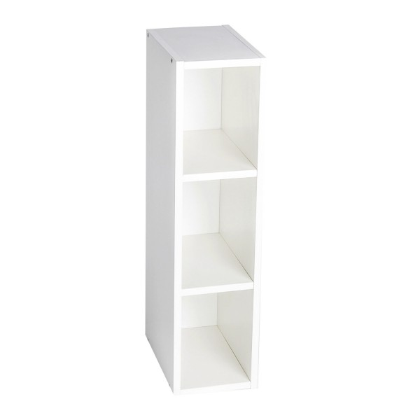 Storage shelf Moritz for Malm, white, 75x19x30 cm