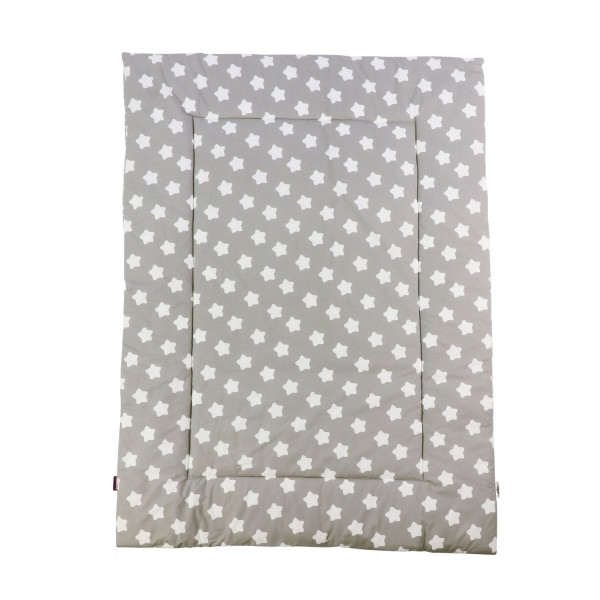 Play mat Finja, grey, 140x100 cm