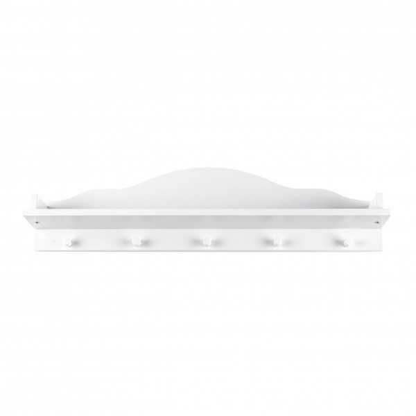 Exhibit: Wall Shelf Frederik, white, 80x20x14 cm