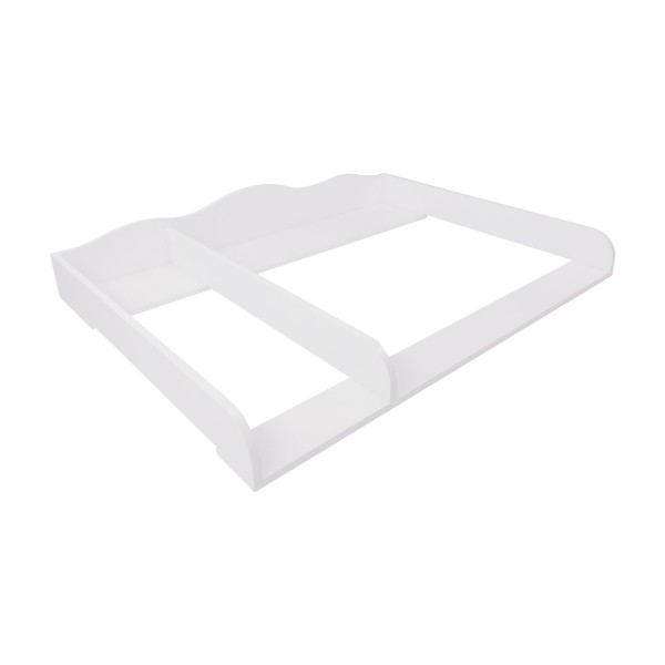 Changing top Frederik XXL with divider, white, IKEA Hemnes