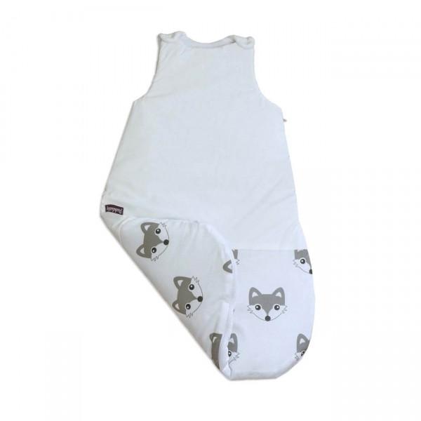 Sleeping bag Foxi, white, 65 cm