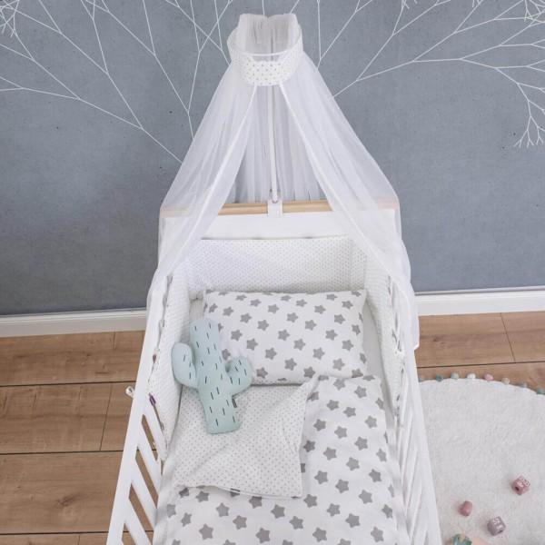 Bed set Freya, white, 135x100cm