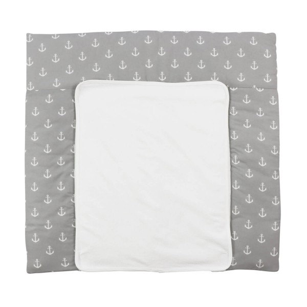Changing mat Greta, grey, 77x75 cm