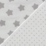 stars/ little dots white