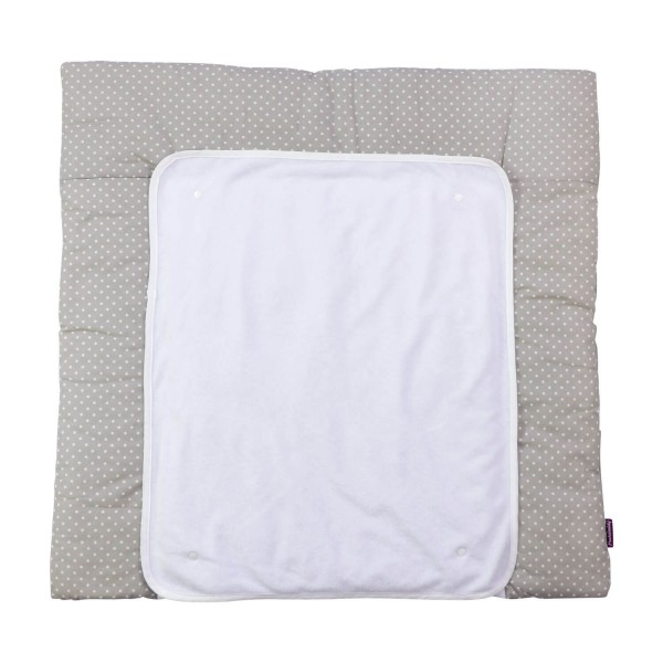Changing mat Inga, grey, 77x75 cm