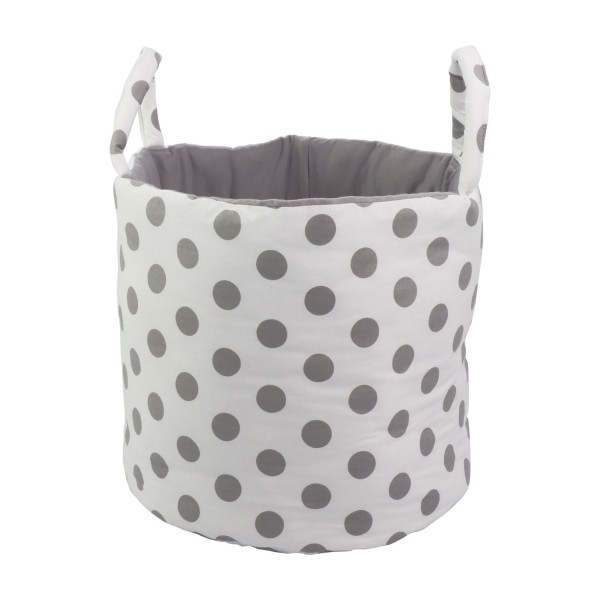 Storage basket Madita, white, ø 35cm