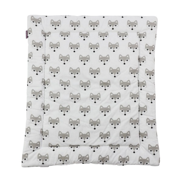 Changing mat Foxi, white, 65x75 cm