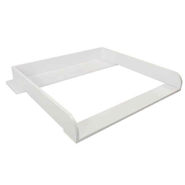Changing top Knut with wide cover, white, for IKEA Koppang
