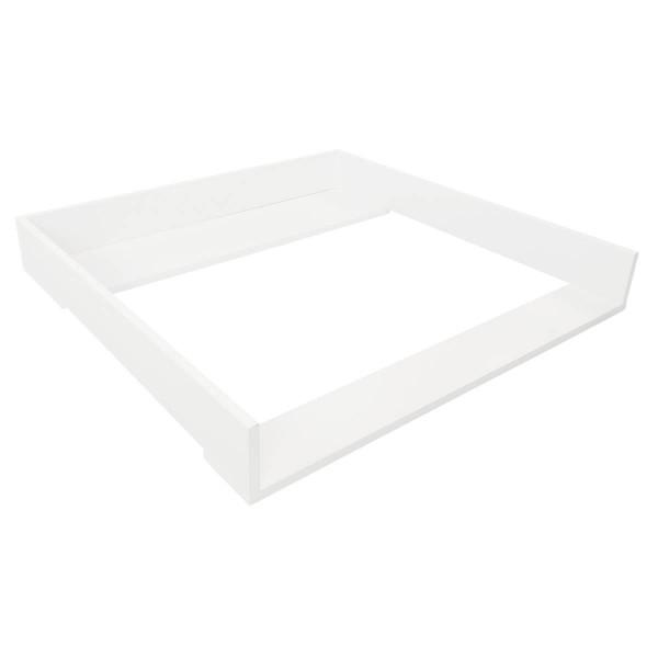 Puckdaddy Wickelaufsatz weiß für Ikea Brimnes