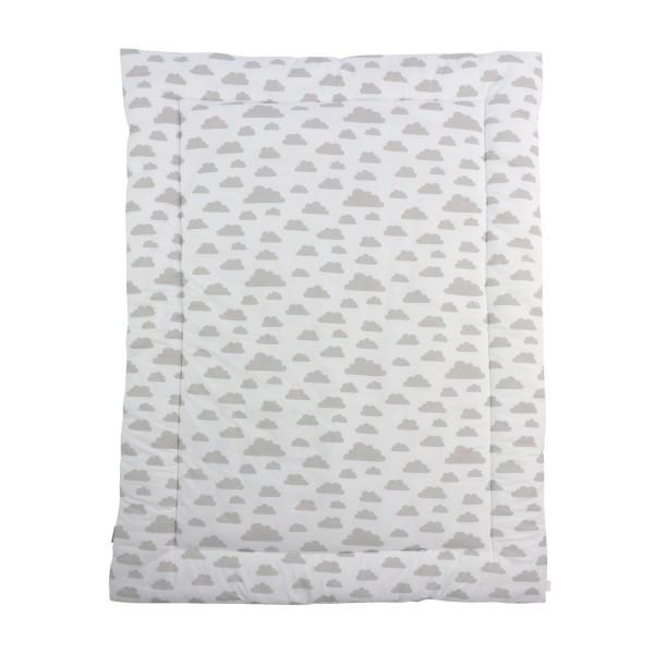 Krabbeldecke Agnes, weiß, 140x100 cm