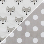 Fox /dots grey