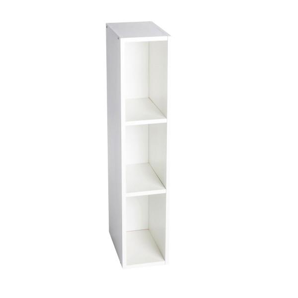 Storage shelf Lasse for Ikea Hemnes, white, 19x30x93 cm